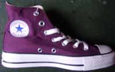 Converse Chuck High- can Plum- 100097