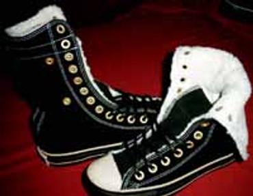 1Q075 Converse Allstar Knee Hi black