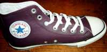 Converse Chuck High- can Plum- 100162- Leder