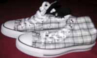 Converse Chuck High- Plaid