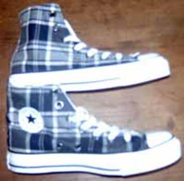 Converse Chucks High Tex Plaid black 110740