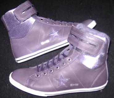 Converse Chucks Schuhe One Star Lo Pro Hi 117117- lila