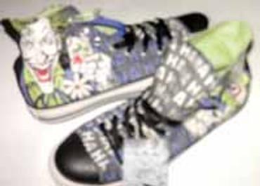 "Converse- \""Joker\""""- Special Edition- 122135"""