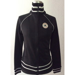 Girlie - Track Jacket - Converse - black 001