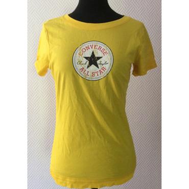 Girlie - T-Shirt - Converse - yellow