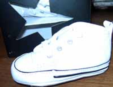 Converse Baby Chuck- First Star- weiss
