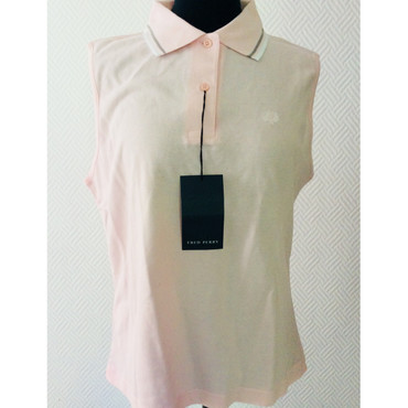 Girlie - Polo - Fred Perry - sleeveless - rose
