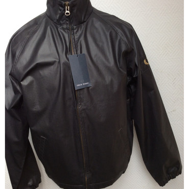 Windjacke - Fred Perry - schwarz