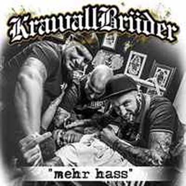 KrawallBrüder - Mehr Hass CD Jewelcase