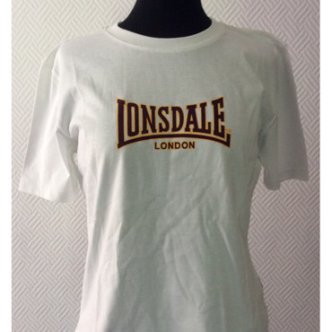 Girlie - T-Shirt - Lonsdale - weiß