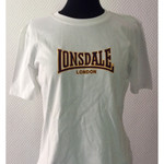 Girlie - T-Shirt - Lonsdale - weiß  001