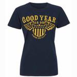 Girlie - T-Shirt - Good Year - dunkelblau 001