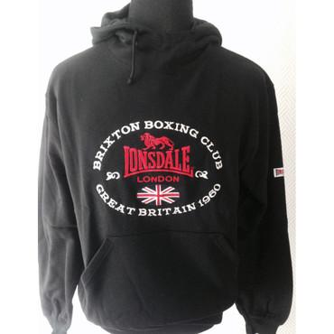 Kapuzenpullover - Lonsdale - Boxing - schwarz