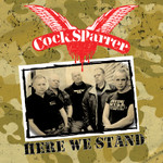 "COCK SPARRER ""Here We Stand"": CD/LP"