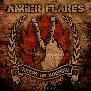 Anger Flares- Keeps on Burning- LP schwarz