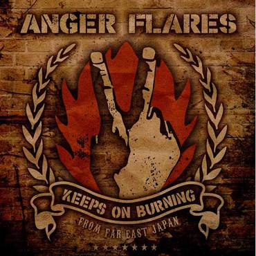 Anger Flares- Keeps on Burning- LP black