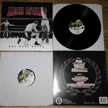 Arch Rivals - one more round - LP – Image 2