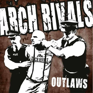 Arch Rivals- Outlaws- Single- black