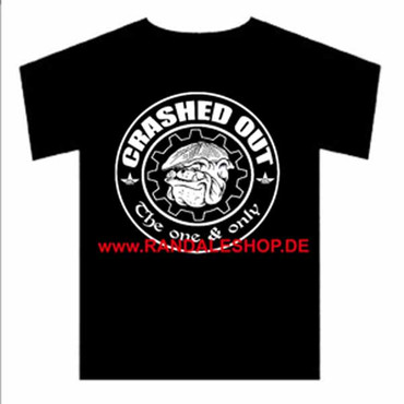 Band T-Shirt- Chrashed Out-  Bulldog