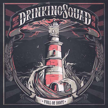 Drinking Squad- full of hope- Single- blue