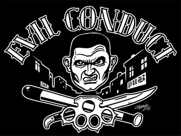 T-Shirt - Evil Conduct - Violence in my Mind - schwarz
