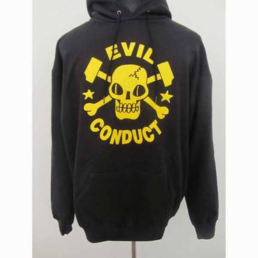 Hoodie - Evil Conduct - Skull - black