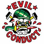 T-Shirt - Evil Conduct - Bulldogg - weiß