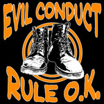 Girlie Shirt- Evil Conduct- Rule O.K- schwarz