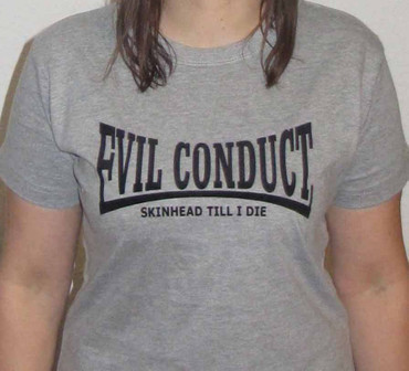"Evil Conduct- Girlieshirt- ""Evildale"""