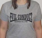 "Evil Conduct- Girlieshirt- ""Evildale"" 001"