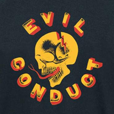 Girlie T- Shirt Evil Conduct- Skull- neu