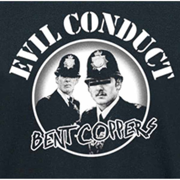 Girlie T- Shirt Evil Conduct- Bent Coppers
