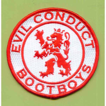 Evil Conduct (Lion) - Patch, embroidered