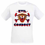 T-Shirt - Evil Conduct - Tiger - white