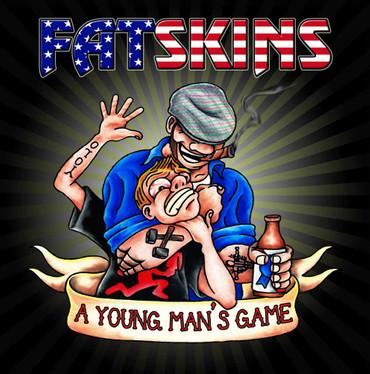 Fatskins- A young mans game- LP- black version