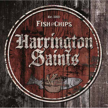 "Harrington Saints - Fish & Chips - 10""LP"