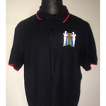 Poloshirt - Last Seen Laughing - schwarz 001