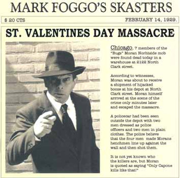 Mark Foggo- St. Valentines Day Massacre- LP+ Single