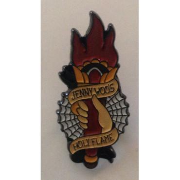 Hartmetall Pin - Jenny Woo - Holy Flame