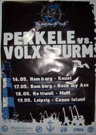 Tourposter- Volxsturm/ Perkele