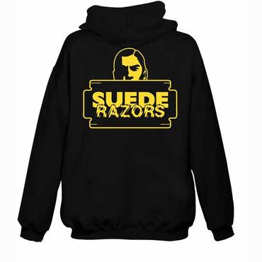 Kapuzenjacke - Suede Razors - Razorhead - schwarz