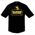 T-Shirt - Suede Razors - Razorhead - schwarz