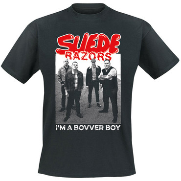 T-Shirt - Suede Razors - Band - black