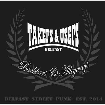 TAKERS n USERS- Backbars & Alleyways- LP black