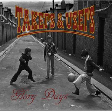 Takers&Users- Glory Days- Single- black