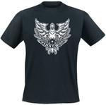 T-Shirt - Jenny Woo - Adler - schwarz