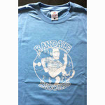 T-Shirt - Randale Records - light blue