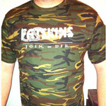 T-Shirt - Fatskins - Join or Die - camouflage