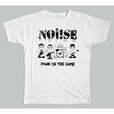 "Band T- Shirt Noi!se/Noise- ""Pawn in the game""- weiss"