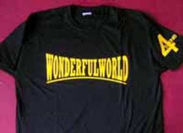 4 Skins- Wonderfulworld- T-Shirt